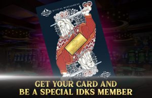 GET YOUT CARD AND BE A SPECIAL IDKS MEMBER
